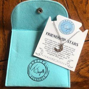 T. Jazelle Friendship Star Necklace Brand New!